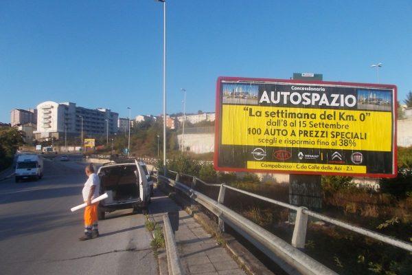 609 – Via Pirandello uscita- Campobasso